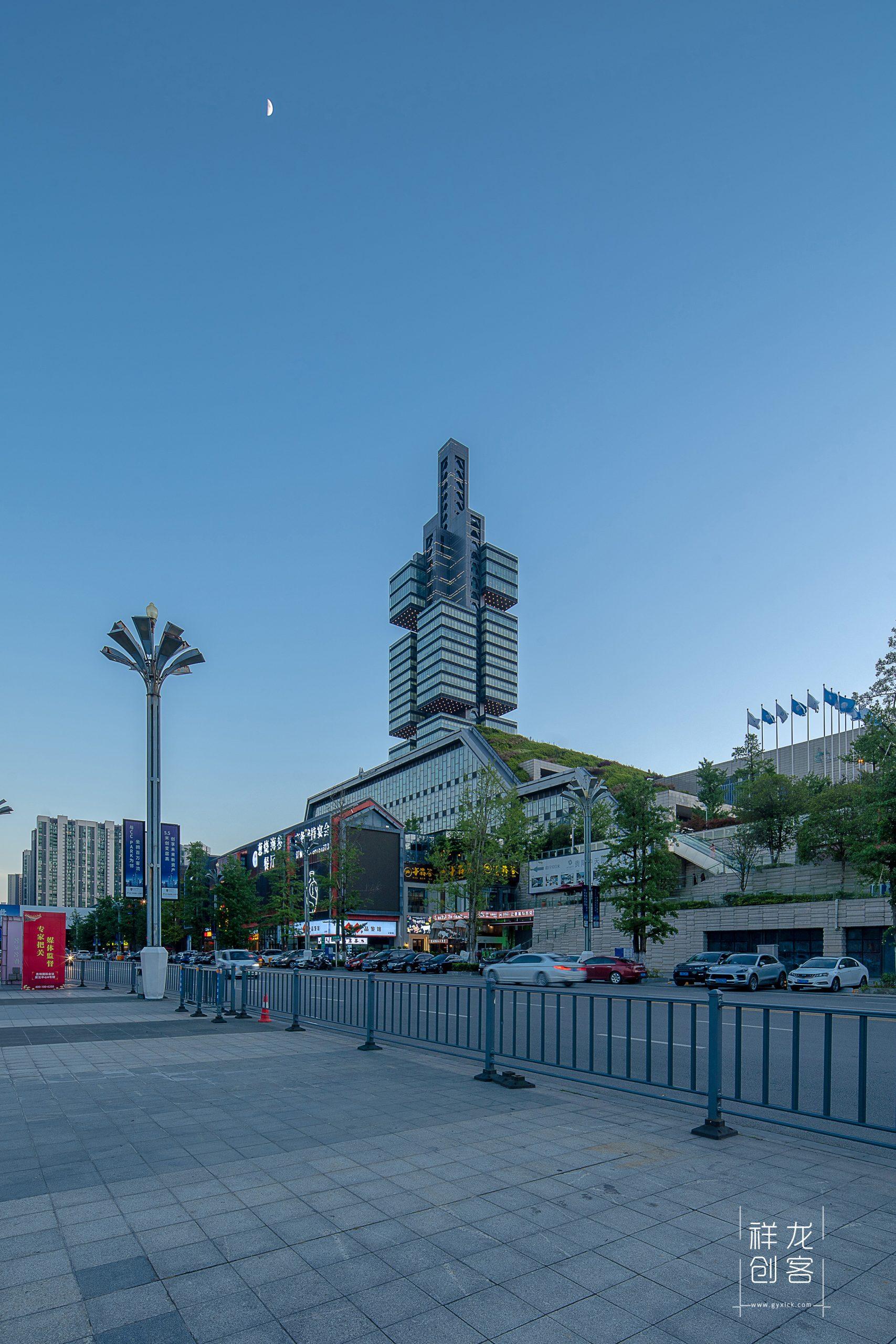 贵阳会展城建筑空间摄影